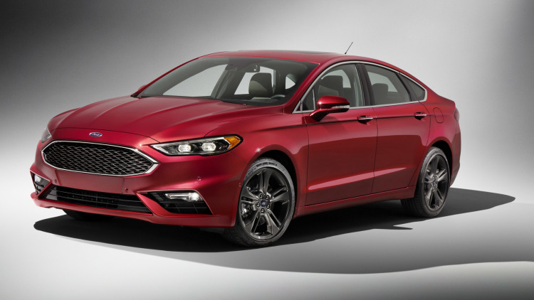 Ford Fusion V6 Sport (2017)