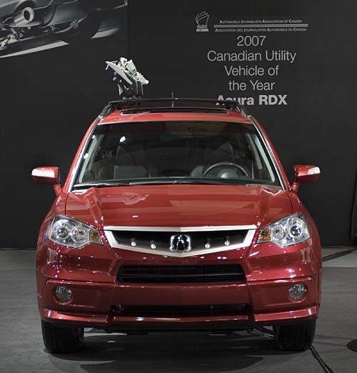 2007 Acura RDX named Utility Vehicle of the Year at Toronto Auto Show