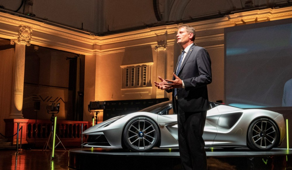 Lotus Evija supercar marks start of a new electric era for sports-car brand
