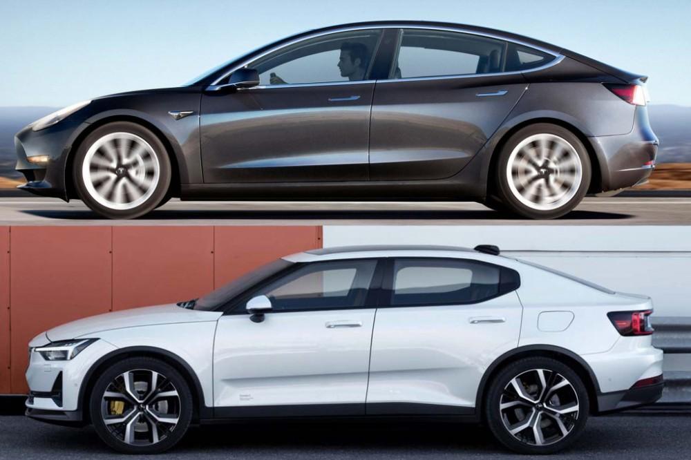 Polestar 2 performance package cues Tesla Model 3 rivalry