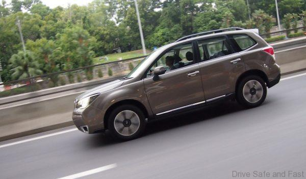 Subaru Forester, SUV test drive review
