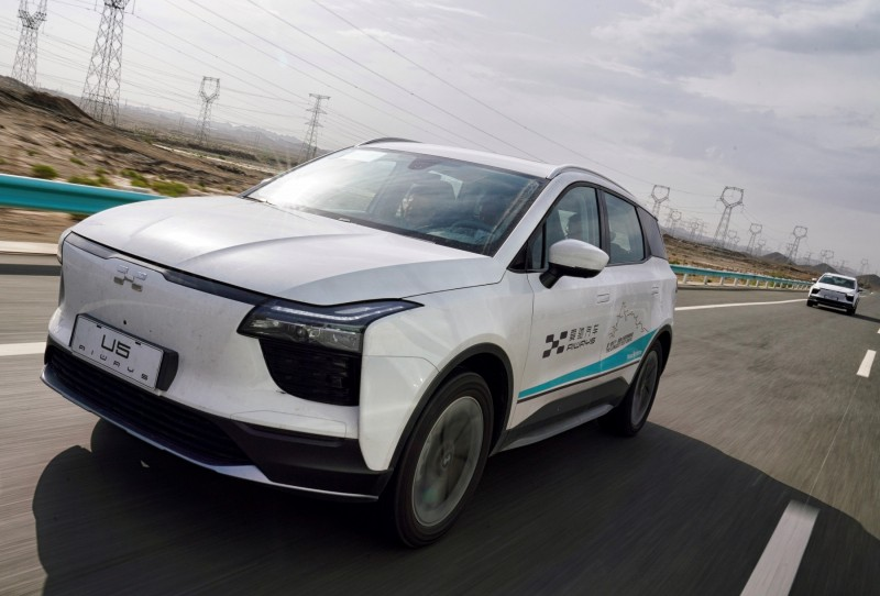 New Chinese EV completes record-breaking journey