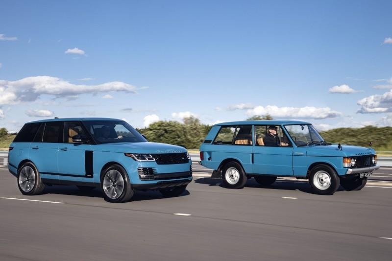 It's the 50th birthday of the original Range Rover