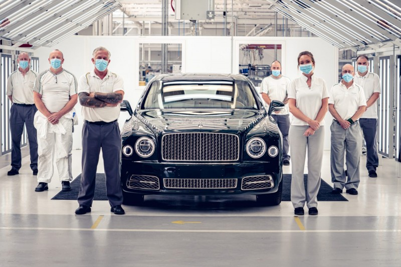 End of an era for the Bentley Mulsanne