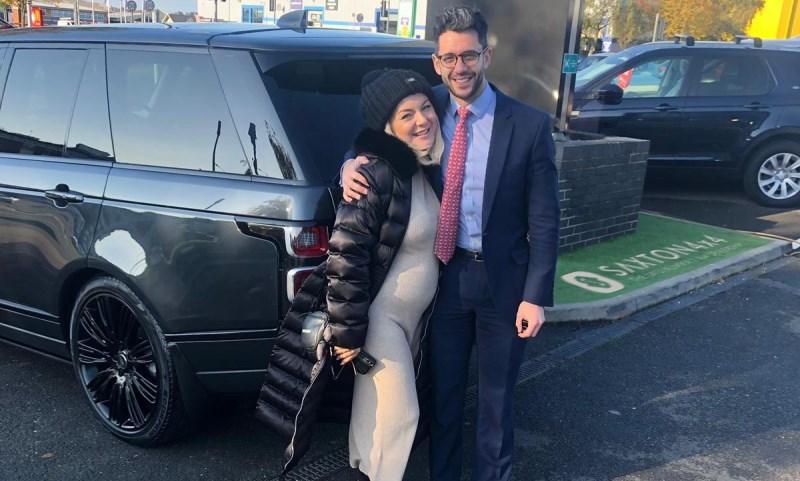Actress Sheridan plumps for as Range Rover