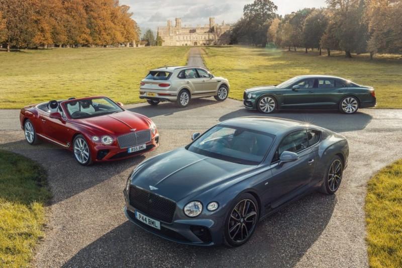 Bentley bucks the trend with record 2020 sales