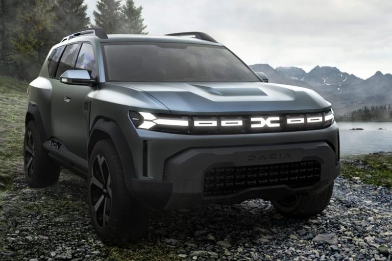 New Dacia makes a 'big' statement