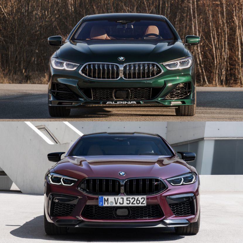 ALPINA B8 Gran Coupe vs BMW M8 Gran Coupe Competition