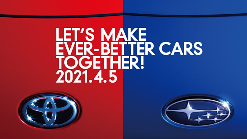 Toyota and Subaru will jointly announce something mysterious and quick